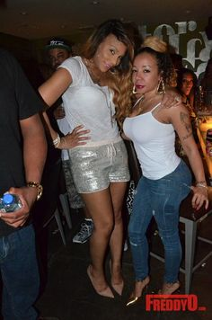 "Tamar Braxton Herbert And Tameka "" Tiny "" Harris"