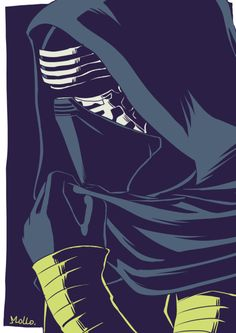 Kylo Ren by Mollo #starwars #kyloren