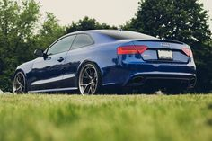 Audi RS5 on HRE wheels. So fresh