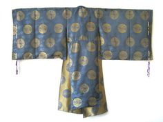 Japanese Antique Silk Priest's Robe