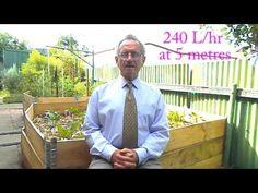 DIY solar drip irrigation - YouTube