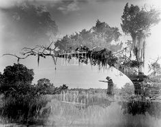 From Ghosts Along The Mississippi by Clarence John Laughlin