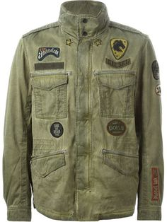 Shop Diesel military applique jacket in Likus Concept Store from the world's best independent boutiques at farfetch.com. Over 1000 designers from 300 boutiques in one website.