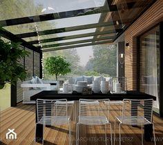 Outdoor Dining, Outdoor Spaces, Outdoor Decor, Caravan Home, Interior Architecture, Interior Design, Pergola Patio, Glass House, Outdoor Gardens