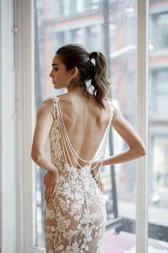 Lovella got a first look at the newest BERTA Privèe collection during New York Bridal Fashion Week!
