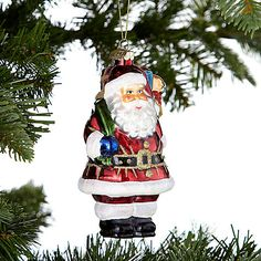 Buy John Lewis Retro Father Christmas Decoration Online at johnlewis.com