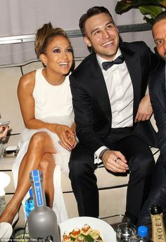 Co-stars: Jennifer and Ryan Guzman, her co-star in The Boy Next Door, attended The Weinste...