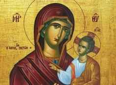 Paint Icon, Byzantine Icons, Archangel Michael, Christmas Figurines, Blessed Virgin Mary, Orthodox Icons, Kirchen, Faith In God, Religion