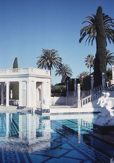 The Neptune Pool, Hearst Castle - San Simeon, California, USA