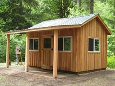 mytinyhousedirectory: Rough Cut Sheds ~ Love It! mytinyhousedirectory: Rough Cut Sheds ~ Love It! Small House Layout, House Layouts, Goat Shelter, Garden Sink, Backyard Sheds, Garden Sheds, Small Barns, Custom Sheds, Building A Cabin