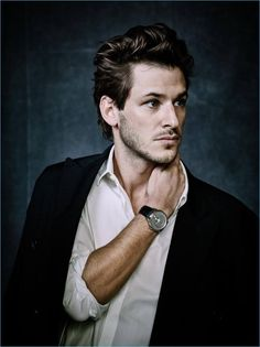Actor Gaspard Ulliel appears in a campaign for Monsieur de Chanel.