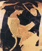 Αντώνης Νικολής: Σαπφώ: δύο δίστιχα.