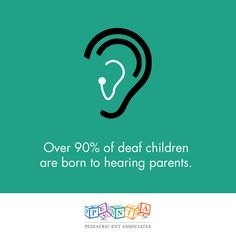 Find out what Pediatric ENT Associates can do for your child!  http://www.pediatricentassociates.com/kids-hearing-loss/ #pediatricent #wellnesswednesday #hearlingloss #cochlearimplants #hearingaids