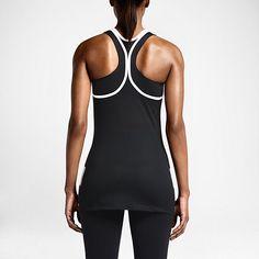 Damska koszulka treningowa bez rękawów Nike G90 Stripe And Mesh Back. Nike Store PL
