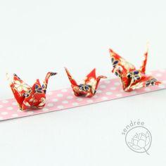 famille de mini grues origami mini cranes family origami Origami, Container, Jewelry, Jewlery, Jewerly, Schmuck, Origami Paper, Jewels, Jewelery