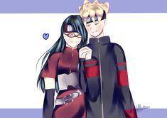 BoruSara Sarada E Boruto, Sasunaru, Anime Naruto, Hinata, Naruto Shippuden, Boruto Next Generation, Naruto Couples, Boruto Naruto Next Generations, Anime Couples