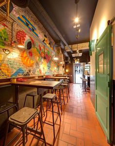 New neighbourhood taquería Pikio Taco celebrates historic Mexican snack in  eclectic style. 88fc38e43d4