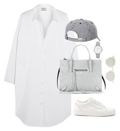 """""""Untitled #4605"""" by magsmccray on Polyvore featuring Acne Studios, Balenciaga, Vans, Sundazed, CLUSE and Yves Saint Laurent"""