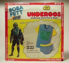 Boba Fett Underoos - I had these as a kid.