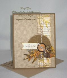 TLC398 French Foliage by Tootsy - Cards and Paper Crafts at Splitcoaststampers
