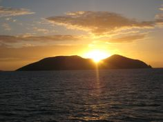 Watch a tropical sunset on a Seabourn Caribbean Cruise:  #travel #vacation #luxury Visit transatlantic.travel or contact Eileen Schlichting to learn more!