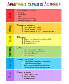 Apartment cleaning schedule roommates chore charts 70 New Ideas -You can find Roommates and more on our website.Apartment cleaning schedule roommates chore charts 70 New . Apartment Cleaning Schedule, Clean House Schedule, Apartment Checklist, Apartment Life Hacks, Cleaning Room, 1st Apartment, House Hacks, Kitchen Cleaning, Bathroom Cleaning