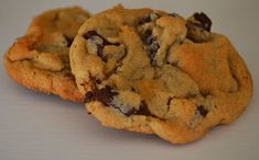 ciao, lulu!: Soft and Chewy Chocolate Chip Cookies... No Eggs Required! use half the salt. so good otherwise!