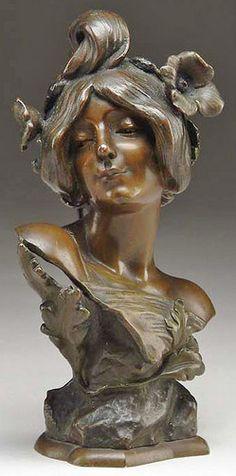 Art Nouveau Bronze, c. 1900 // Julien Causse | JV