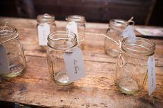 185 best Mason Jar Wedding Ideas images on Pinterest   Field wedding ...