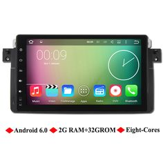 "Ancluu 9"" Eight Cores 2G RAM Android 6.0 Car video Player for BMW E46 3 Series M3 Car radio stereo GPS navigation with canbus"