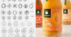 Le Fruit — The Dieline | Packaging