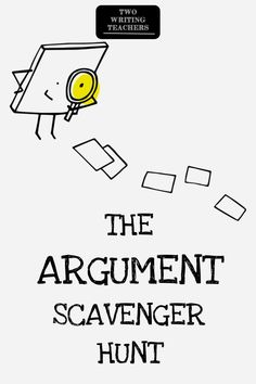 The Argument Scavenger Hunt When it comes to learning, sometimes a little competition can be just the ticket. Argumentative writing can be uniquely challenging, especially teaching writers to support claims with evidence. Argumentative Writing, Persuasive Writing, Teaching Writing, Teaching Strategies, Writing Skills, Essay Writing, Teaching English, Middle School Science, Argument Writing Middle School