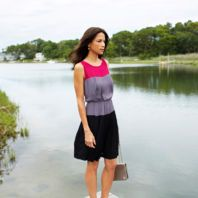 Colorblock Dress by Taylor