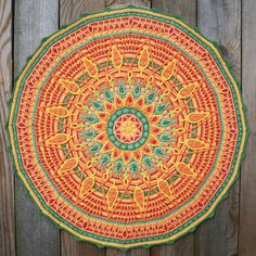 Ravelry: Crochet Overlay Mandala No. 7, Pattern PDF pattern by CAROcreated design