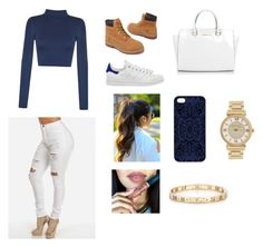 """"""""""" by isajurojas ❤ liked on Polyvore featuring WearAll, adidas, Timberland, Michael Kors, Samantha Warren London, Tiffany & Co., women's clothing, women, female and woman"""