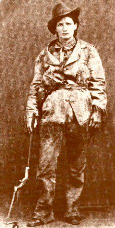 American Folk Figure. Born Martha Jane Cannary on May 1, 1852, Calamity Jane is nearly as famous as Bill Hickok was and is known to be as tough as any man in the West. Raised in the mining camps of Wyoming, she is a legendary horsewoman and crack shot, and was an Army scout for Custer