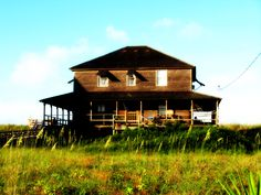 The Outlaw Cottage -  built 1885     Nags Head, NC    One of the original 13 cottages of cottage row. Photo by Mel Orndorff (that's me!)