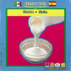 """En México cuando decimos """"Le echas mucha crema a tus tacos"""" significa que eres muy presumido o hablador… #MexicanosenEspaña #Traductor #LaPanzaesPrimero www.lapanzaesprimero.com"""
