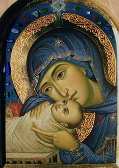 The Virgin Mary with Christ More