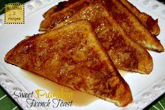 Sweet Pumpkin French Toast #fall #recipe