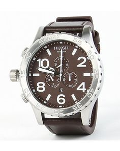 sophisticated yet rugged = sexy (guys watch)
