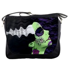"""Measures 14""""L x 4.8""""W x 12""""H inches  Made of black nylon  Single zippered top inside closure  Velcro outside closure  It can fit 2 packs of A4 paper easily (500 sheets per pack)  2 internal pockets  Image imprinted using dye sublimation process to ensure everlasting effect  Adjust..."""