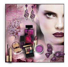 """Glitter lips"" by perla57 ❤ liked on Polyvore featuring beauty, Elizabeth Arden, Illamasqua, Wander Beauty, Stila and Yves Saint Laurent"