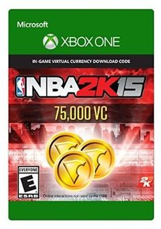 awesome NBA 2K15 75,000 Virtual Currency - Xbox One [Digital Code] - For Sale
