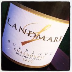 My review of Landmark Vineyards Overlook Chardonnay