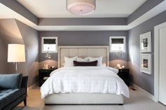 Painting Tray Ceiling Design Ideas, Pictures, Remodel and Decor