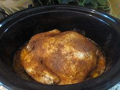 Spice Rub Crock Pot Chicken - really good and cheap