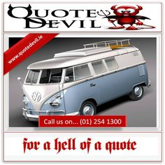 We Search All Policies Available To Provide The Best Van Insurance Cover Possible  #AD https://www.quotedevil.ie/Commercial-vehicle-Insurance.php …