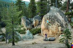 climbing around Lake Tahoe