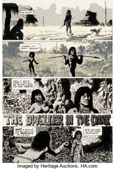 Richard Corben Hot Stuf' #3 Story Page 1 Original Art (Sal   Lot #93054   Heritage Auctions Hot, Original Art, Dads, The Originals, Movies, Movie Posters, Films, Film Poster, Fathers